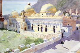 Lucy Willis - Mosque, Taiz, Yemen