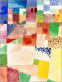 Paul Klee - Motif from Hammamet
