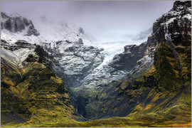 Alex Robinson - Mountains below the Vatnajokull glacier near Hofn, Iceland, Polar Regions