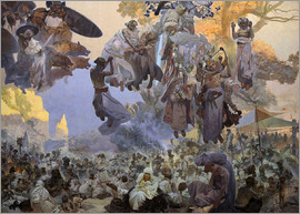 Alfons Mucha - Mucha, Alfons Marie (1860-1939) City Gallery Prague 1912 610x810 Tempera on canvas Art Nouveau Czech
