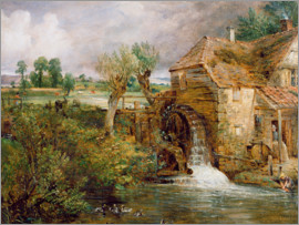 John Constable - Mill at Gillingham