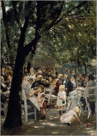 Max Liebermann - Munich beer garden