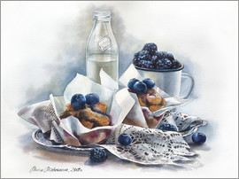 Maria Mishkareva - Muffins and milk