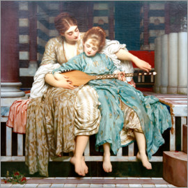 Frederic Leighton - music lesson 1884