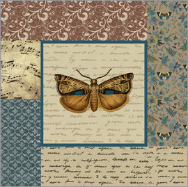 Gail Fraser - Pattern English Manor, butterfly