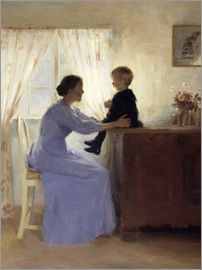 Peter Vilhelm Ilsted - Mother and Child