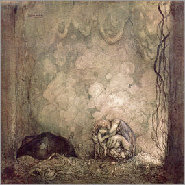 John Bauer - Mother's love