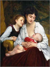 Leon Bazile Perrault - Motherly Love