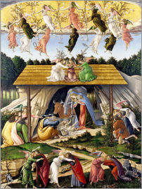 Sandro Botticelli - Mystical Birth
