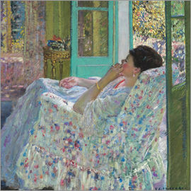 Frederick Carl Frieseke - Afternoon, Yellow Room