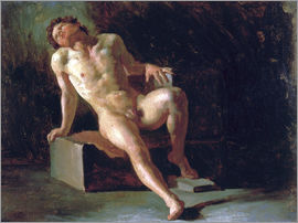 Theodore Gericault - Study of a nude man