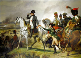 Emile Jean Horace Vernet - Napoleon Bonaparte, Battle of Wagram 06 July 1809th