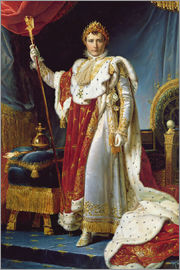 François Pascal Simon Gerard - Napoleon I in his coronation robe