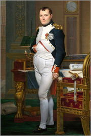 Jacques-Louis David - Napoleon in His Study at the Tuileries