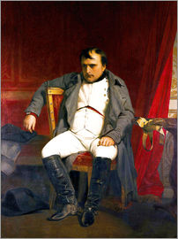 Hippolyte Delaroche - Napoleon after his abdication