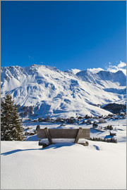 Dieterich Fotografie - Fresh snow in Arosa