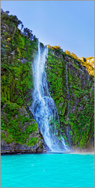 Michael Rucker - New Zealand Milford Sound Stirling Falls