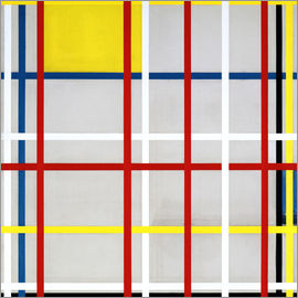 Piet Mondrian - New York City, 1940?41.