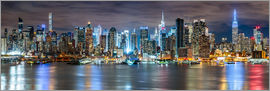Sascha Kilmer - New York City Skyline panoramic view