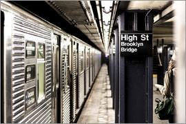 newfrontiers photography - New York City Subway, High Street, Brooklyn