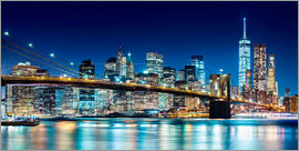 newfrontiers photography - New York illuminated Skyline