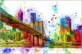 Peter Roder - New York mit Brooklyn Bridge