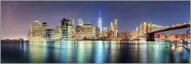 Sascha Kilmer - New York City Skyline, panoramic view
