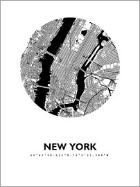 44spaces - New York City Map HFR 44spaces