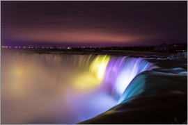 Mike Clegg Photography - Niagara Falls at night