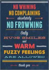 Typobox - No Whining only Hugs