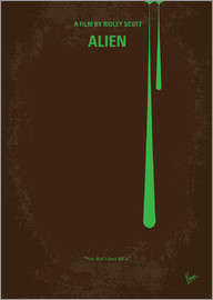 chungkong - No004 My Alien minimal movie poster