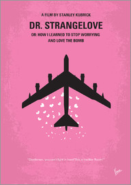 chungkong - No025 My Dr Strangelove minimal movie poster