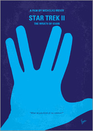 chungkong - No082 My Star Trek   2 minimal movie poster