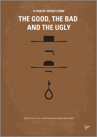 chungkong - No090 My The Good The Bad The Ugly minimal movie poster