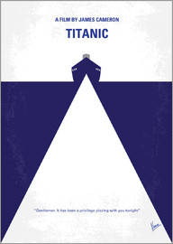 chungkong - No100 My Titanic minimal movie poster
