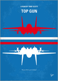 chungkong - No128 My TOP GUN minimal movie poster