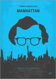 chungkong - No146 My Manhattan minimal movie poster