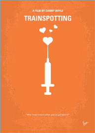 chungkong - No152 My TRAINSPOTTING minimal movie poster