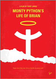chungkong - No182 My Monty Pyton Life of brian minimal movie poster