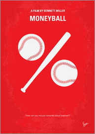 chungkong - No191 My Moneyball minimal movie poster