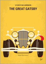 chungkong - No206 My The Great Gatsby minimal movie poster