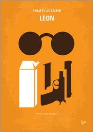 chungkong - No239 My LEON minimal movie poster