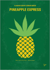 chungkong - No264 My PINEAPPLE EXPRESS minimal movie poster