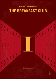 chungkong - No309 My The Breakfast Club minimal movie poster