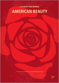 chungkong - No313 My American Beauty minimal movie poster
