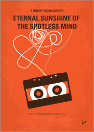 chungkong - No384 My Eternal Sunshine of the Spotless Mind minimal movie poster