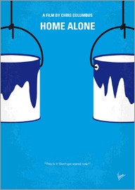 chungkong - No427 My Home alone minimal movie poster