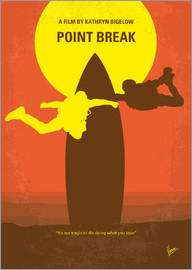 chungkong - No455 My Point Break minimal movie poster