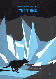 chungkong - No466 My The Thing minimal movie poster