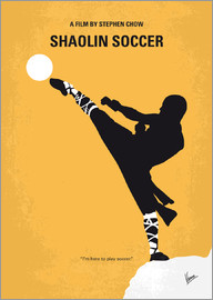chungkong - No480 My Shaolin Soccer minimal movie poster